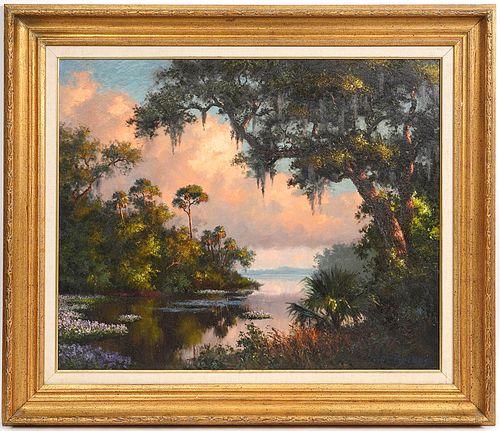 Albert Ernest 'Beanie' Backus Oil on Canvas