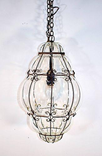 Murano Seguso Light Fixture (Italian, Vintage)