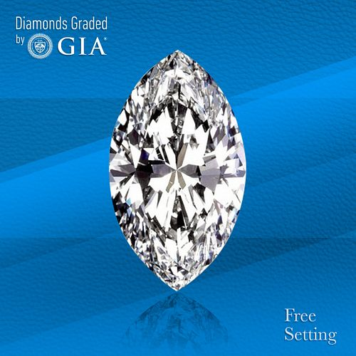 2.07 ct, D/IF, TYPE IIa Marquise cut Diamond. Unmounted. Appraised Value: $83,300