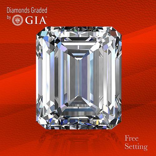 1.56 ct, D/FL, TYPE IIa Emerald cut Diamond. Unmounted. Appraised Value: $42,400