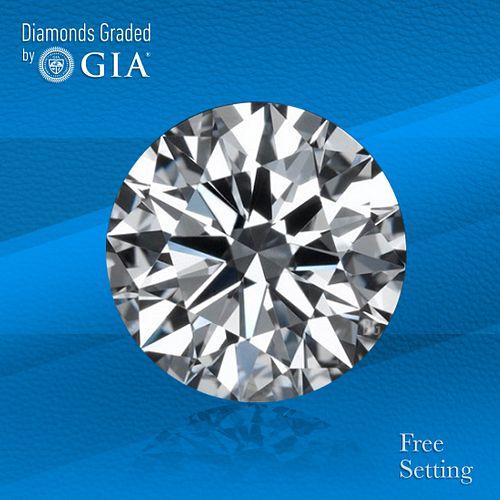 1.25 ct, D/FL, TYPE IIa Round cut Diamond. Unmounted. Appraised Value: $42,900