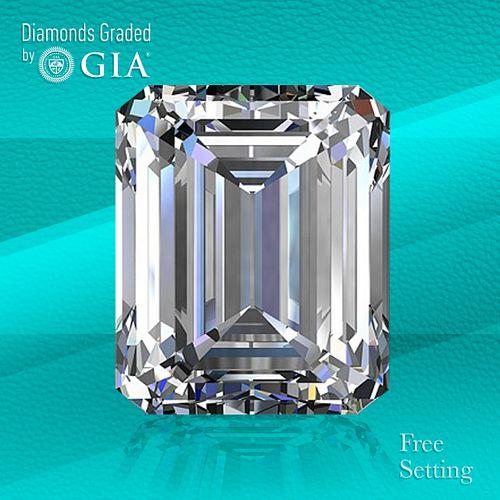 2.01 ct, D/IF, TYPE IIa Emerald cut Diamond. Unmounted. Appraised Value: $80,900