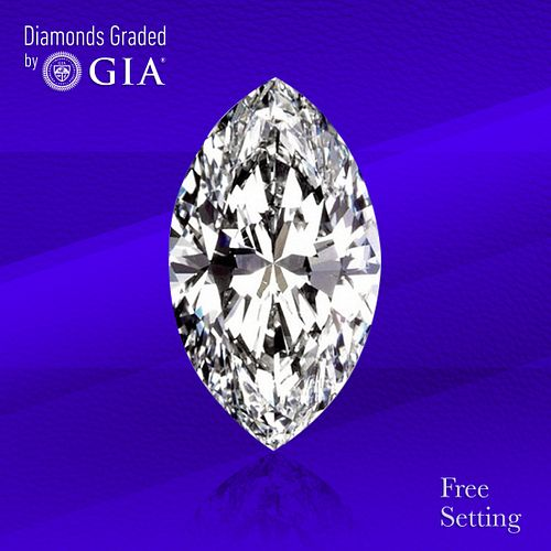 2.30 ct, D/IF, TYPE IIa Marquise cut Diamond. Unmounted. Appraised Value: $92,500