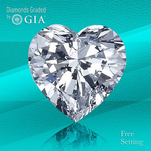 5.53 ct, D/VVS2, TYPE IIa Heart cut Diamond. Unmounted. Appraised Value: $774,200