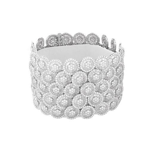 Diamond and 18K Bracelet