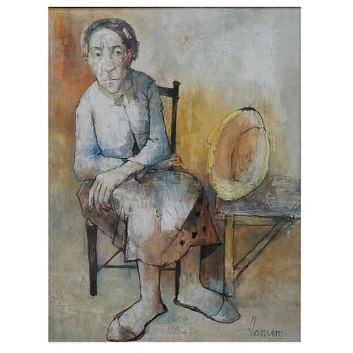 Jean Jansem, French (1920-2013)