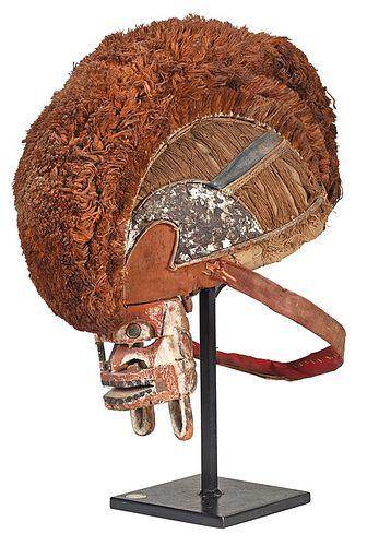 Malangan Tatanua Helmet Mask