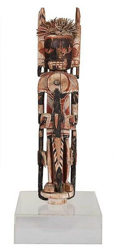 New Ireland Malangan Carved Ceremonial Figure