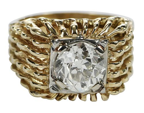 3.52ct. Diamond and Ring