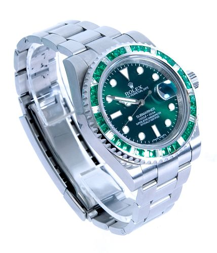 Rolex Oyster Perpetual SS Submariner Watch