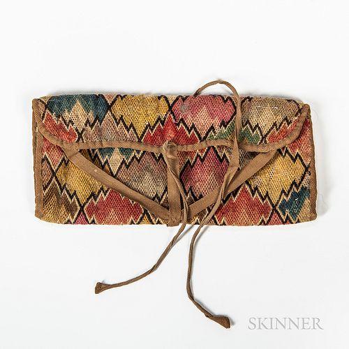 Flame-stitch Wallet