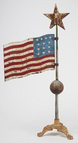 Flag Weathervane