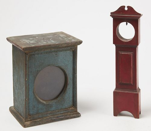 Two Early New England Watch Hutches