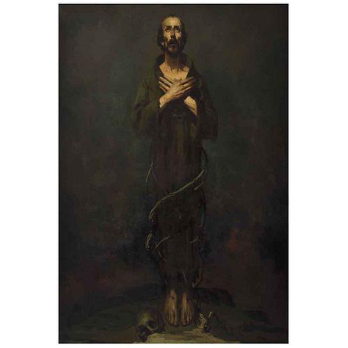 "JOSÉ BARDASANO, Untitled, Signed, Oil on canvas, 61 x 41.3"" (155 x 105 cm)"