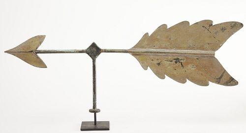 Unusual Early Arrow Weathervane