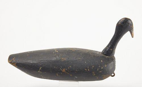Early Folk Art Root Head Decoy