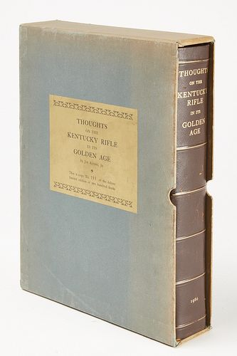 Rare Book - Thoughts on the Kentucky Rifle
