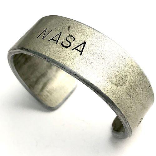 Space Shuttle Cargo Tray Cuff Bracelet - NASA Metal