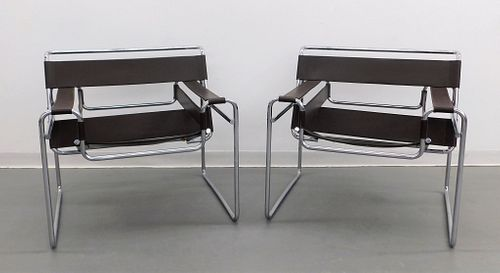 PR Marcel Breuer for Knoll Wassily Chairs