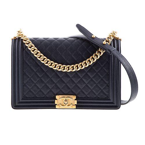 A Chanel Medium Boy Bag