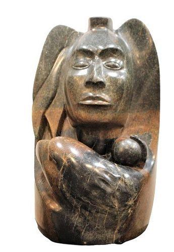 "Michel Beauvais  ""Spirit of the Warrior"" Sculpture"