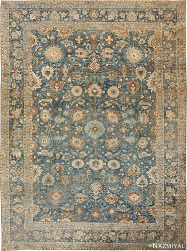 ANTIQUE PERSIAN TABRIZ RUG. 15 ft x 10 ft 8 in (4.57 m x 3.25 m)