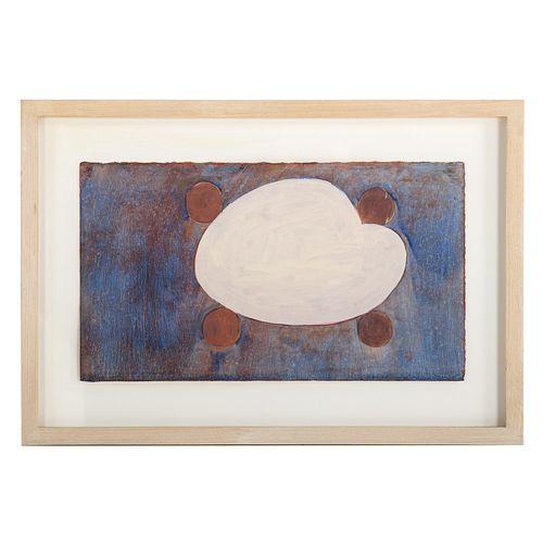 Thomas Nozkowski. Untitled, oil on paper