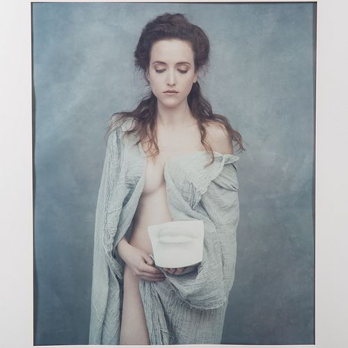 "Joyce Tenneson. ""89 Lips,"" photograph"