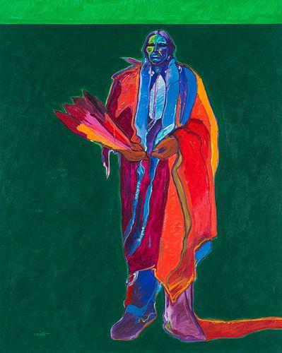 John Nieto  Quanah Parker, Comanche