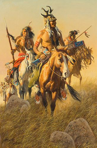 Frank McCarthy  Warriors of the Northern Plains