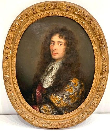 18thc French School, Portrait of a Gentleman