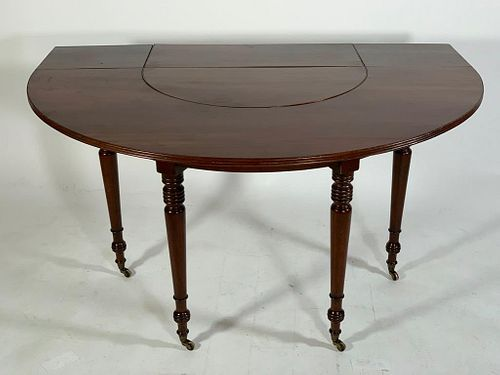 English Regency Mahogany Wine Table, 19thc.