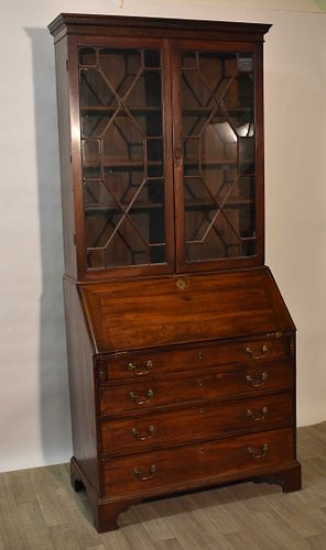 Period English Chippendale Secretary