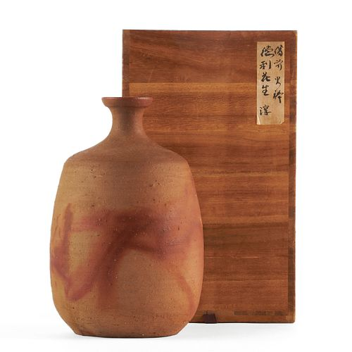 Jun Isezaki LNT Pottery Bizen Vase