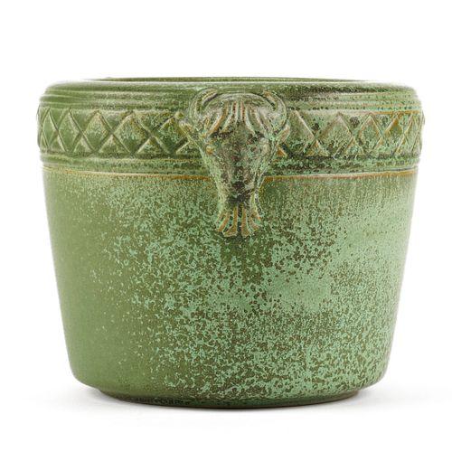 Laura Taylor University North Dakota 1930s Buffalo Pottery