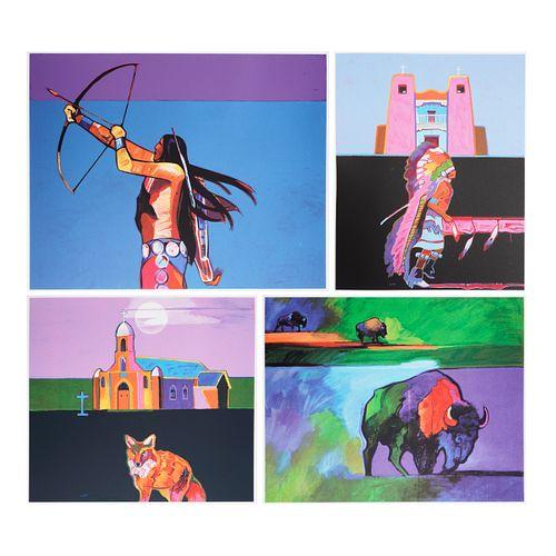 "John Nieto ""Les Livres des Peintres"" Serigraphs Portfolio 357/395"