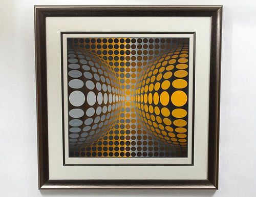 VICTOR VASARELY (French/Hungarian. 1906-1997)