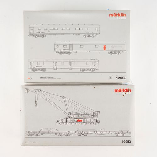 Grp: 2 Marklin HO Scale Trains - 49952 & 49953