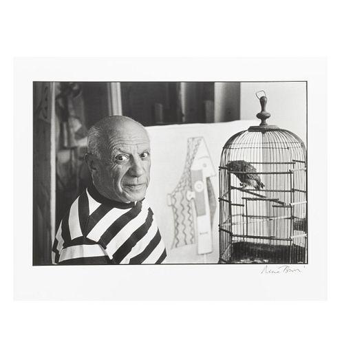 Koetzle, Hans-Michael. René Burri Photographs. London-New York, 2004. Edición limitada, ejemplar 37. Foto y libro firmados por Burri.