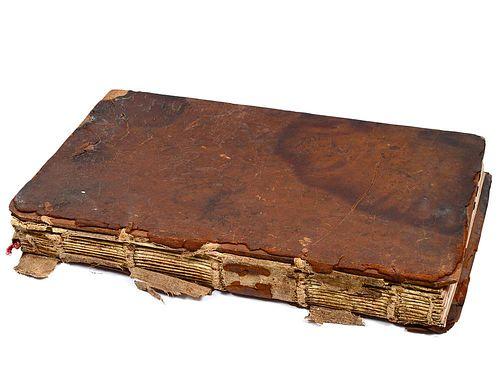 17th CENTURY MUSIC MANUSCRIPT