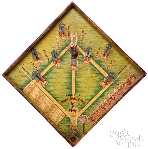 McLoughlin Bros. Zimmer's Baseball Game