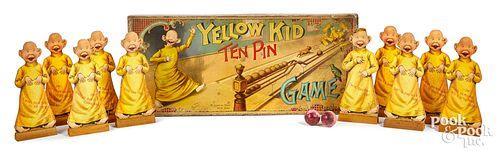 McLoughlin Bros. Yellow Kid Ten Pin Game