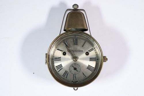 SETH THOMAS SHIP'S BELL WALL CLOCK
