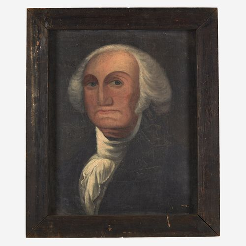 American School 19th century Portrait of George Washington (1732-1799)