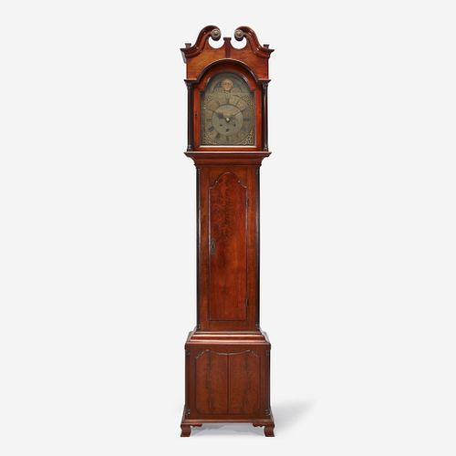 A Chippendale carved mahogany tall case clock Frederick Dominick (active 1766, d. 1811), Philadelphia, PA, late 18th century