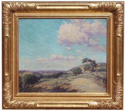 Onderdonk, Signed Texas Landscape Painting