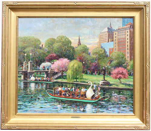 Donald Mosher (1945 - 2014) Boston Public Garden