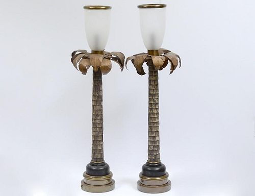 PAIR OF CHAPMAN TABLE LAMPS