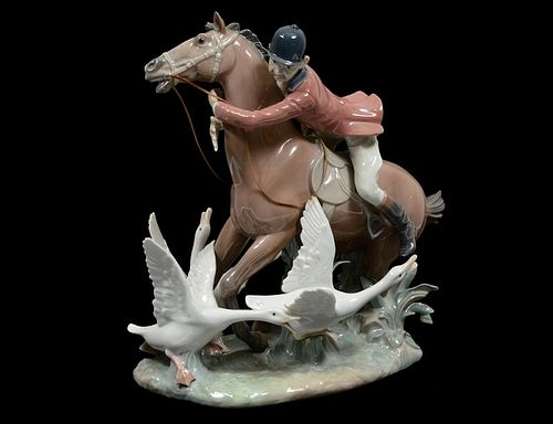 LLADRO PORCELAIN EQUESTRIAN GROUP