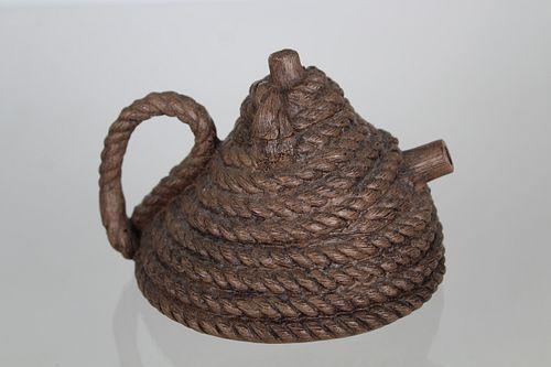Zhou Dingfang, Coiled Rope Yixing Teapot